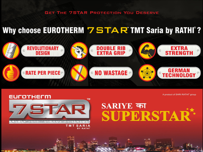 TMT Saria manufacturer and suppliers in India