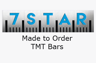 7 STAR Made-To-Order TMT bars