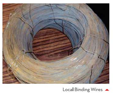Local Binding Wires
